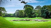 picture of mayan  - Beautiful golf course on mayan riviera in Mexico - JPG