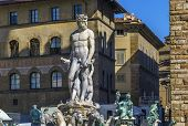 Постер, плакат: Fountain Of Neptune Florence