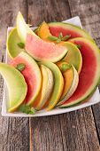 picture of melon  - watermelon - JPG