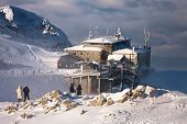 Approaching Snowstorm At The Top Station Kasprowy Wierch