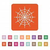 pic of spiderwebs  - The spiderweb icon - JPG