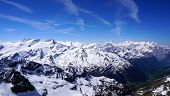 stock photo of tit  - viewpoints of Titlis snow mountains in Engelberg Lucerne Switzerland - JPG