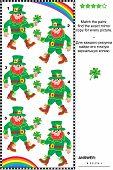 picture of leprechaun  - Visual puzzle  - JPG