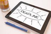 image of last day work  - Deadline  - JPG