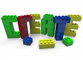 Create - Word Built In Toy Blocks