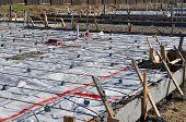 New Home Foundation Concrete