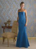 Blue Evening Gown Blond