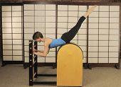 Pilates Barrel Stretch