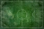 Grunge football field texture background