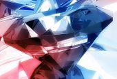 Diamonds Background poster
