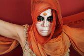 Woman In Facepaint