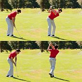 Secuencia de Swing de golf