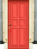 Magic Red Door - Entire Door - Very High Definition