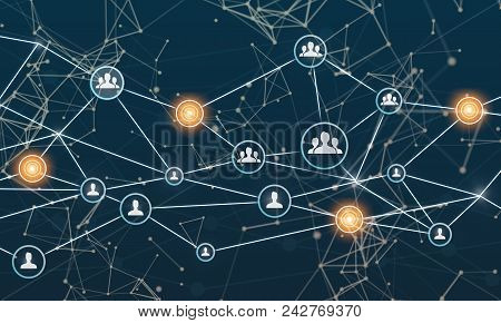 Linking Entities Networking Social Media