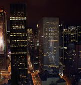 Manhattan, New York By Night