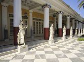 Achillion Palace Statues