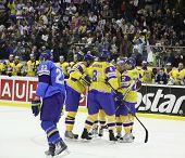Hóquei no gelo. Ucrânia vs Cazaquistão