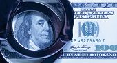 Dollar Cash And Handcuffs As Symbol Of Corruption In The Judicial System, Justice, Law, Bail, Crime, poster