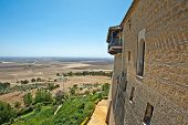 Parador in a Spanish landscape
