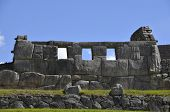 Постер, плакат: Древний храм инков на Мачу Пикчу