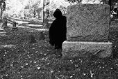 Death Lurking In The Cemetery