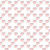 Vector Flat Hearts Seamless Pattern. Valentines Day Background. Love Romantic Pattern. Subtle Abstra poster