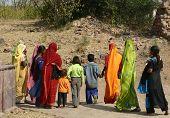 A Bright Sari Day