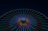Giant Wheel Ferris Wheel At Wildwoods Boardwalk poster