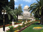 Beauty Of Bahai Gardens.