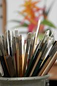 Artists' Paint Brushes