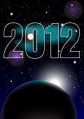 Año nuevo Fiesta 2012 Fondo