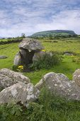 Dolmen At Carrowmore Megalithic Cemetary