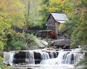 Grist Mill at Babcock State Park, West Virginia