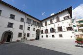 Historic Palace In Pieve Santo Stefano (arezzo, Tuscany, Italy)