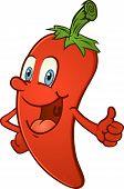 Hot Pepper Thumbs Up