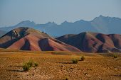 Central Asia. Kyrgyzstan. The Tien Shan Mountain System Is The Second Highest In Central Asia After  poster
