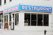 NEW YORK CITY, USA - JUNE 10: Tom's Restaurant. Its exterior was used as a stand-in for the fictiona