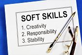 Soft Skills Are Personal And Not Professional Qualities That Are Important For A Successful Career,  poster