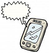 cartoon touch screen phone