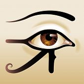 Eye of Horus, all seeing eye
