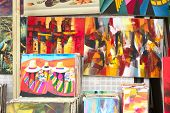 Paintings at Artisan Market