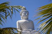 The Buddha Statue Sits On Top Of The Nakkerd Hills. Big Buddha Phuket. That Is One Of The Islands M poster