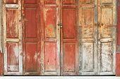 The Vintage Wooden Door