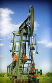 stock photo of nonrenewable  - Pump - JPG