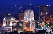 stock photo of asheville  - Downtown Asheville - JPG