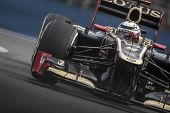 VALENCIA, SPAIN - JUNE 22: Kimi Raikkonen in the Formula 1 Grand Prix of Europe, in Valencia Street
