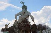 Neptune Fountain in Berlin