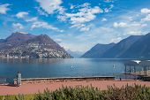 monte Carlo Of Switzerland Lake Lugano, Switzerland poster
