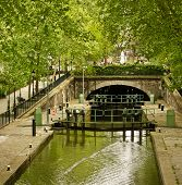 Canal St. Martin de París