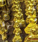 The Golden Buddha Statues